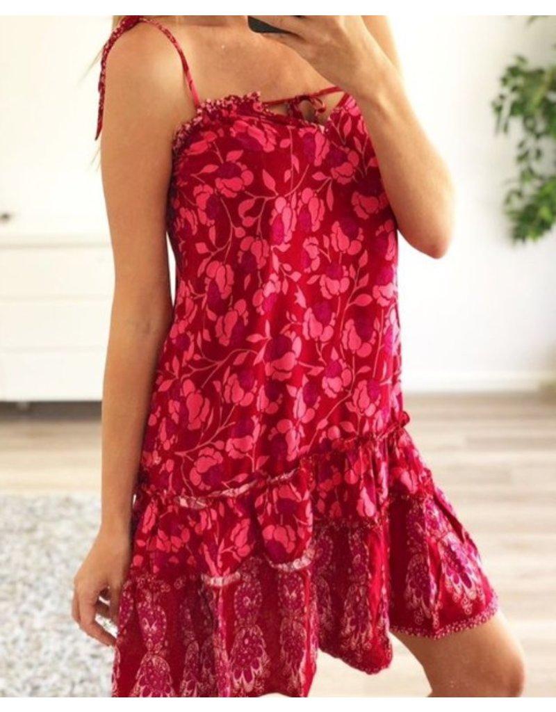 Red Blossom Dress