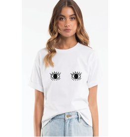 All About Eve Evil Eyes Tee