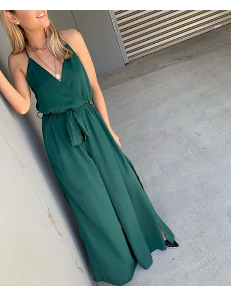 Forest Green Jumpsuit