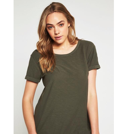 Mavi Mavi Evie Washed Military B Tee