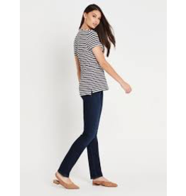 Mavi Mavi Hailey Midnight White Stripe Tee