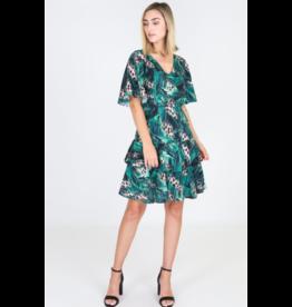 3rd Love The Label Jungle Short Sleeve Dress
