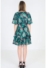 3rd Love The Label Jungle Short Sleeve Dress