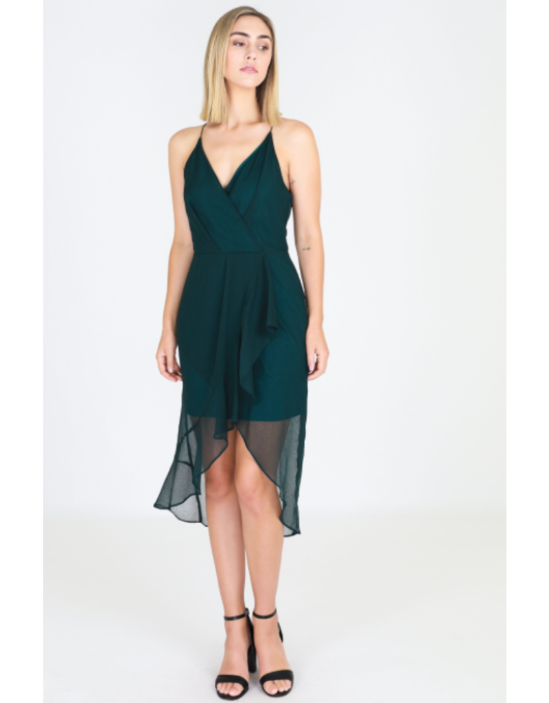 3rd Love The Label Emerald Sheer Dress