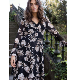 Wish Interbloom Midi Dress