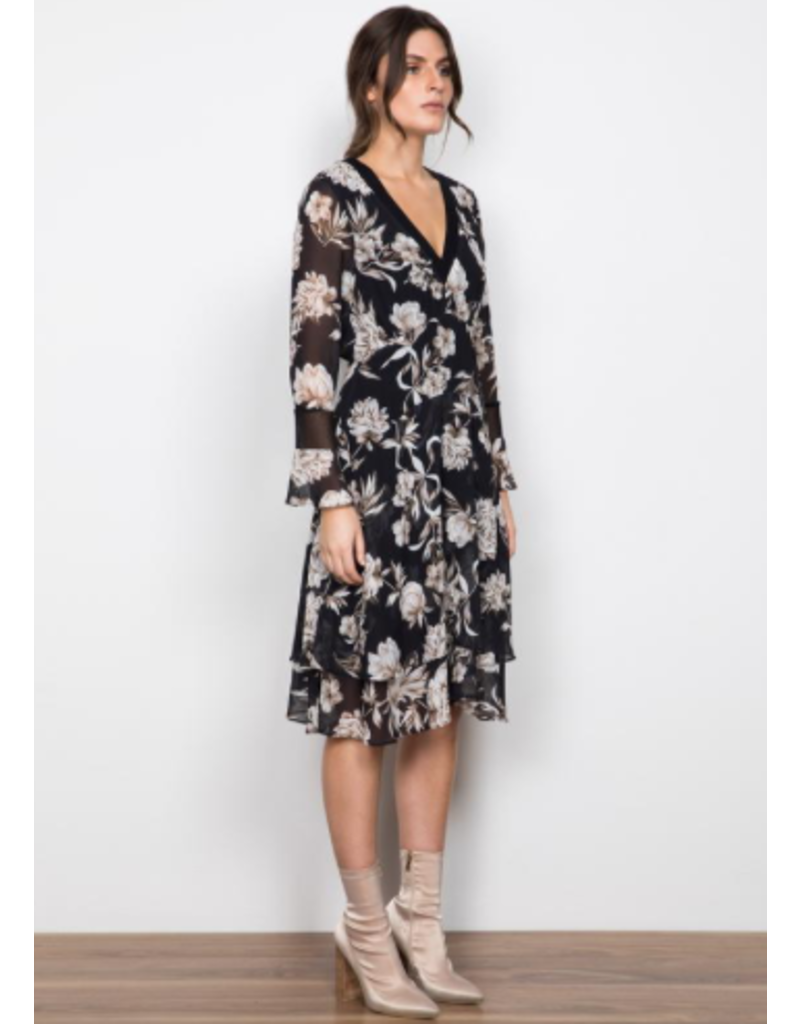 Wish Interbloom Midi Dress