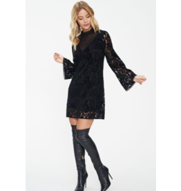 Cooper St Sara Long Sleeve Mini Lace Dress