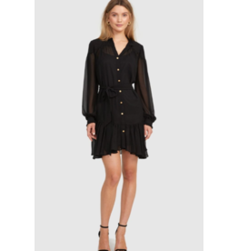 Cooper St Is This Love Long Sleeve Mini Dress