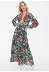 Cooper St Dream Long Sleeve Splice Dress
