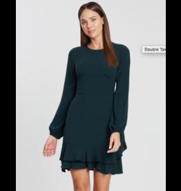 Cooper St Double Take Long Sleeve Mini Dress