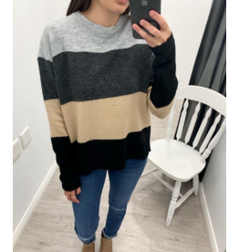 Virgo Two Toned Knit