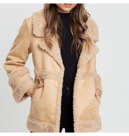 All About Eve Shearling Coat