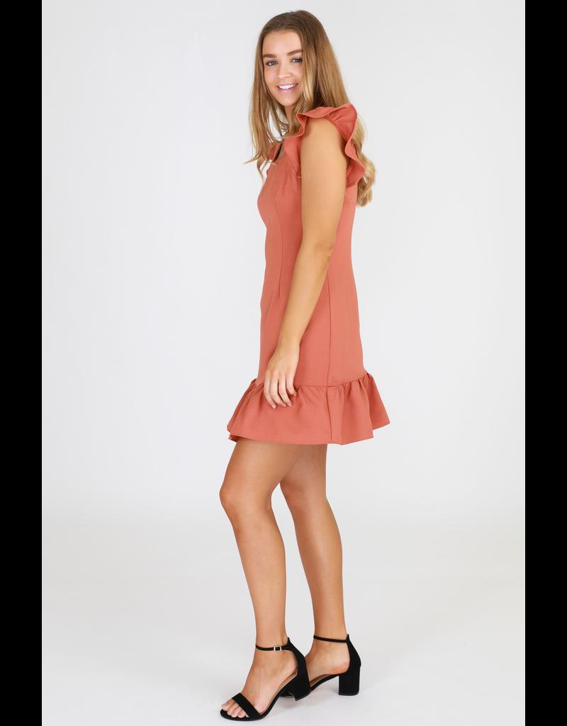 3rd Love The Label Copper Dress
