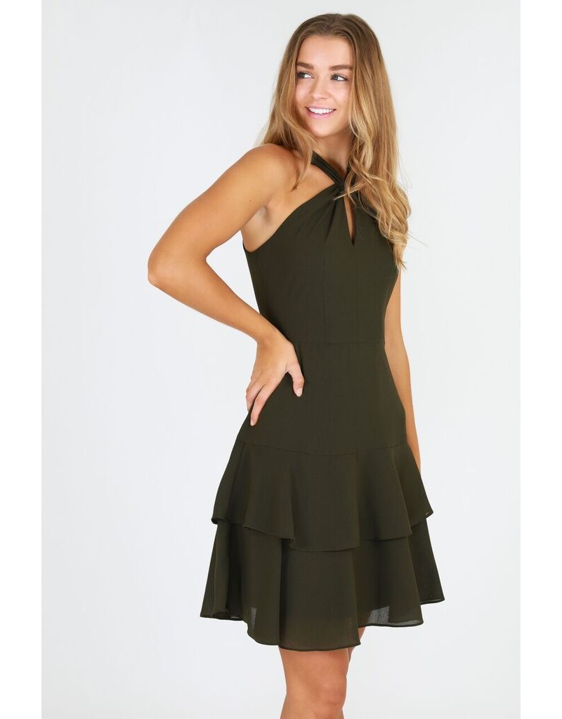3rd Love The Label 3rd Love Khaki Dress