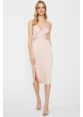 Cooper St Eden Twist Drape Dress