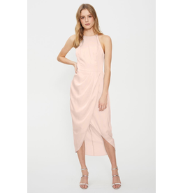 Cooper St Lotta High Neck Drape Dress