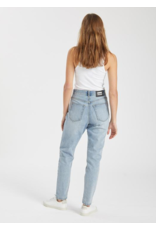 Nora Downtown Blue Button Fly Jean