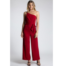 Style State Grace One Shoulder Jumpsuit
