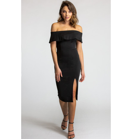 Style State Mira Off the Shoulder Dress