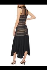 Cooper St Ana Lace Contrast Midi Dress
