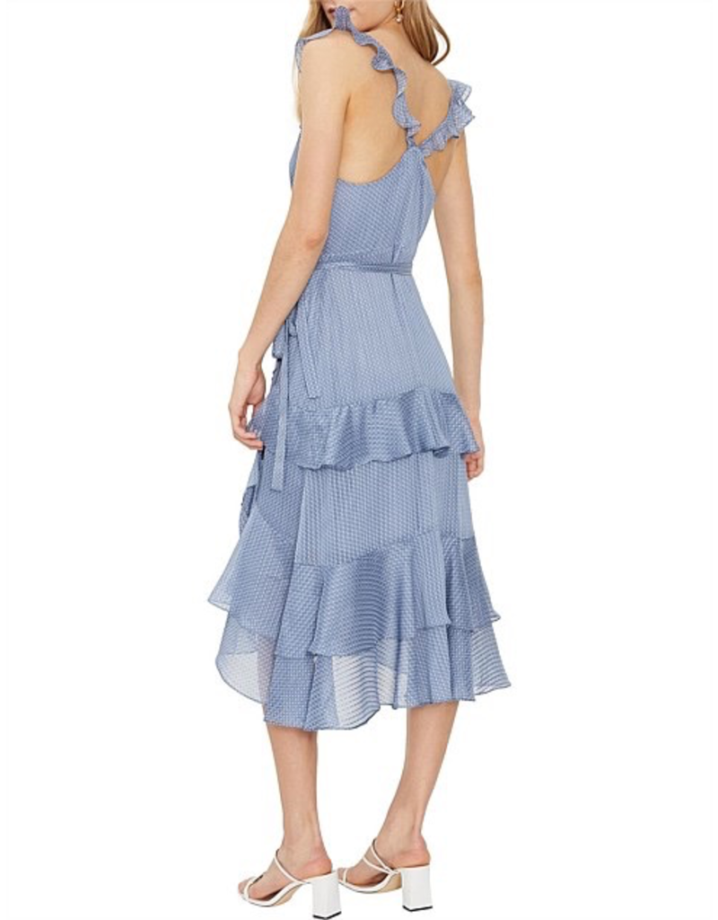 Cooper St Molly Frill Midi Dress