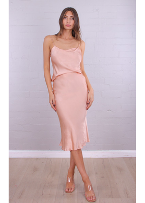 Sammi Silk Midi Dress