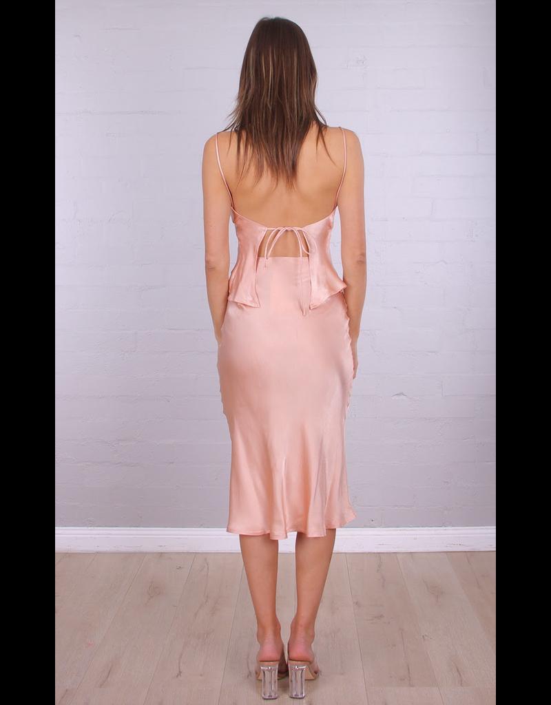 Sammi Silk Midi Dress