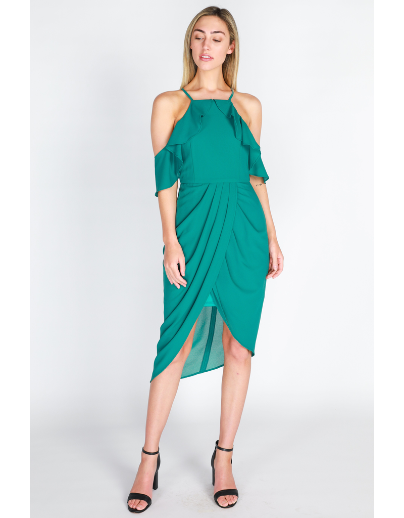 3rd Love The Label Reign Ruffle Dress