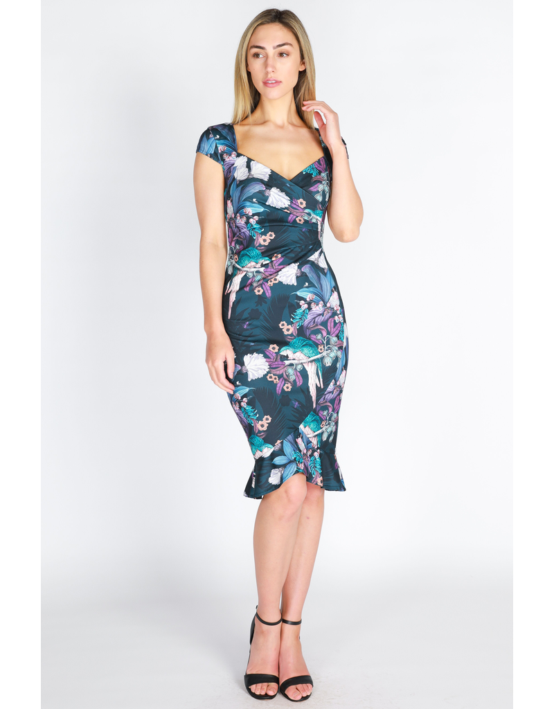 3rd Love The Label Mya Cap Sleeve Dress