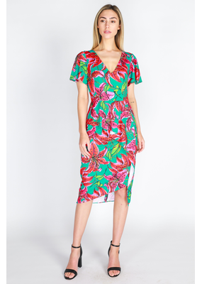 3rd Love The Label Lylah Peplum Dress