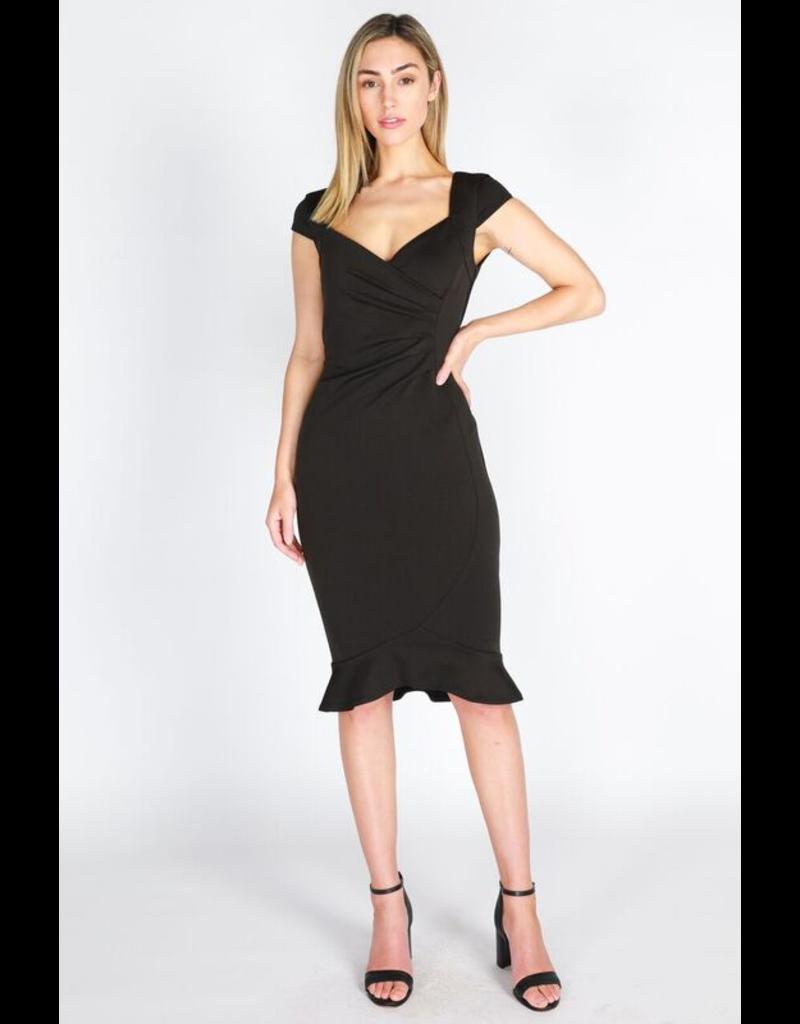3rd Love The Label Amber Cap Sleeve Dress