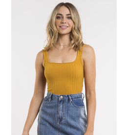 All About Eve Revival Square Neck Tank