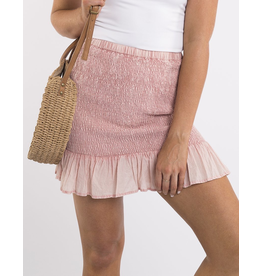 All About Eve Tainted Mini Skirt