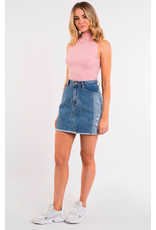 All About Eve Upcycled Denim Skirt