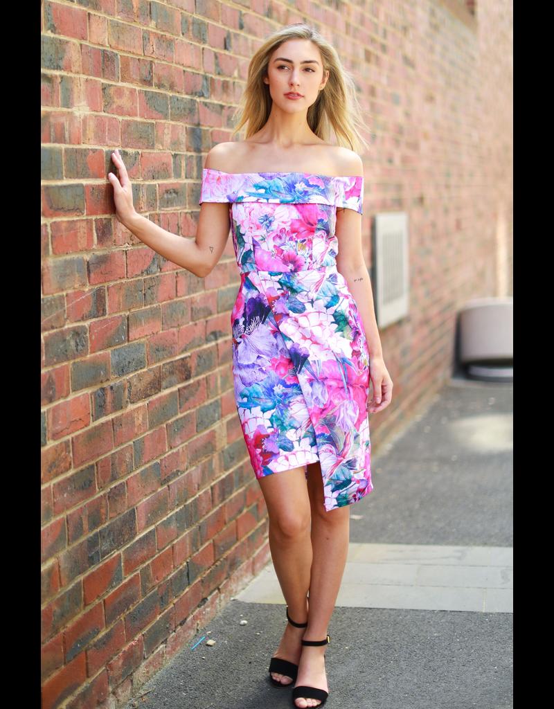 3rd Love The Label Andrena Off Shoulder Dress