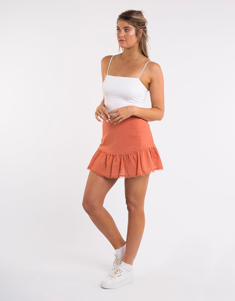All About Eve Beachy Mini Skirt