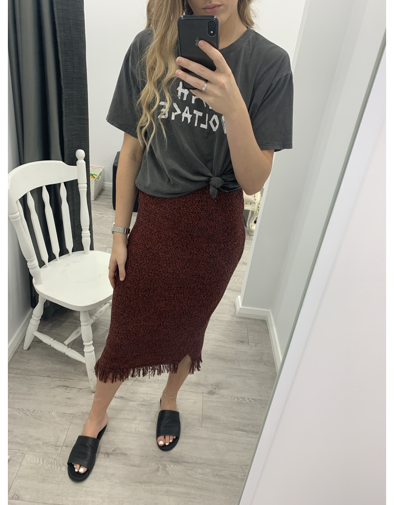 Amber Knit Skirt
