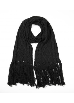 Betty Basics Betty Basics Lunar Cable Knit Scarf