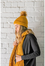 Betty Basics Betty Basics Stellar Knit Beanie Pumpkin