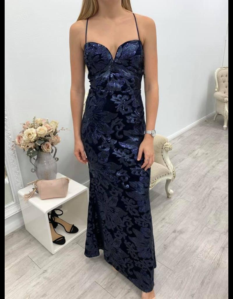 MeiMei Kayla Sequin Gown