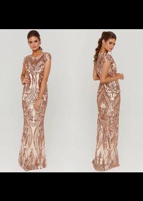 MeiMei Kelly Sequin Gown