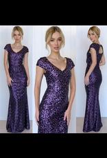 MeiMei Layla Sequin Gown