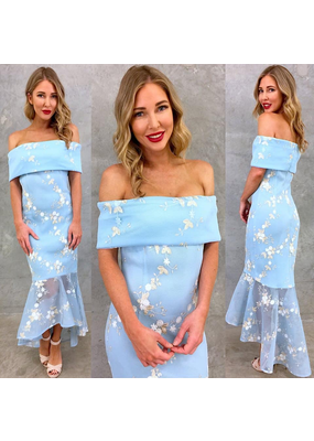 MeiMei Lily Midi Lace Gown