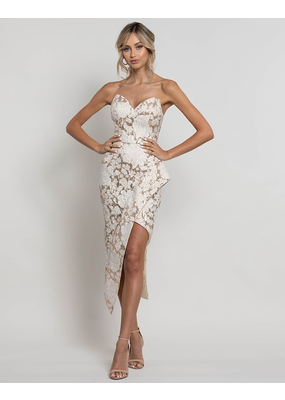 Bariano Philippa Sweetheart Midi Gown