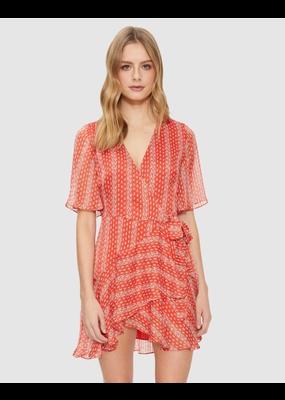 Cooper St Sutton Wrap Mini Dress