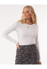 All About Eve Waffle Long Sleeve Top