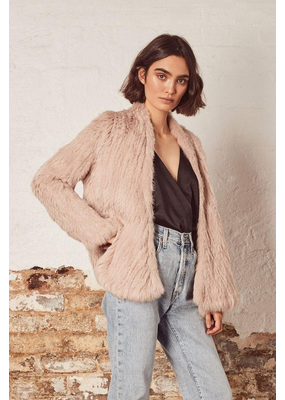 Wish Wish Ivy Fur Jacket