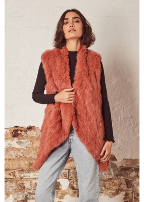 Wish Wish Ivy Fur Vest