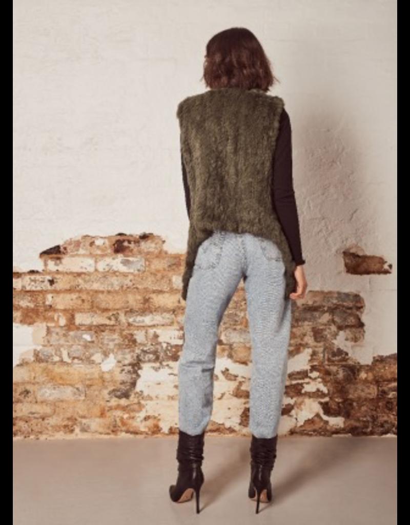 Wish Wish Ivy Fur Vest