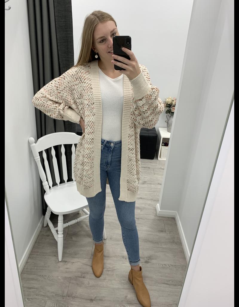 Lindsey Knit Cardi